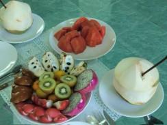Экзотические фрукты - лучшее начало дня